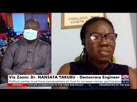 Ministerial Appointment: Answering the gender question - Upfront on JoyNews (22-4-21)