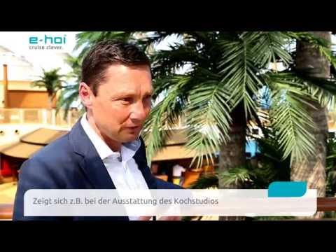 Interview Uwe Mohr (Director Sales AIDA Cruises) zur AIDAprima