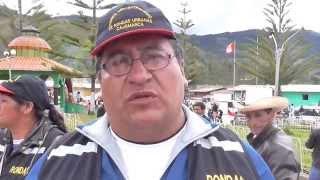 Fernando  Chuquilín: lamentó parcialización de rondas campesinas de Tongod a un candidato.05-07-15