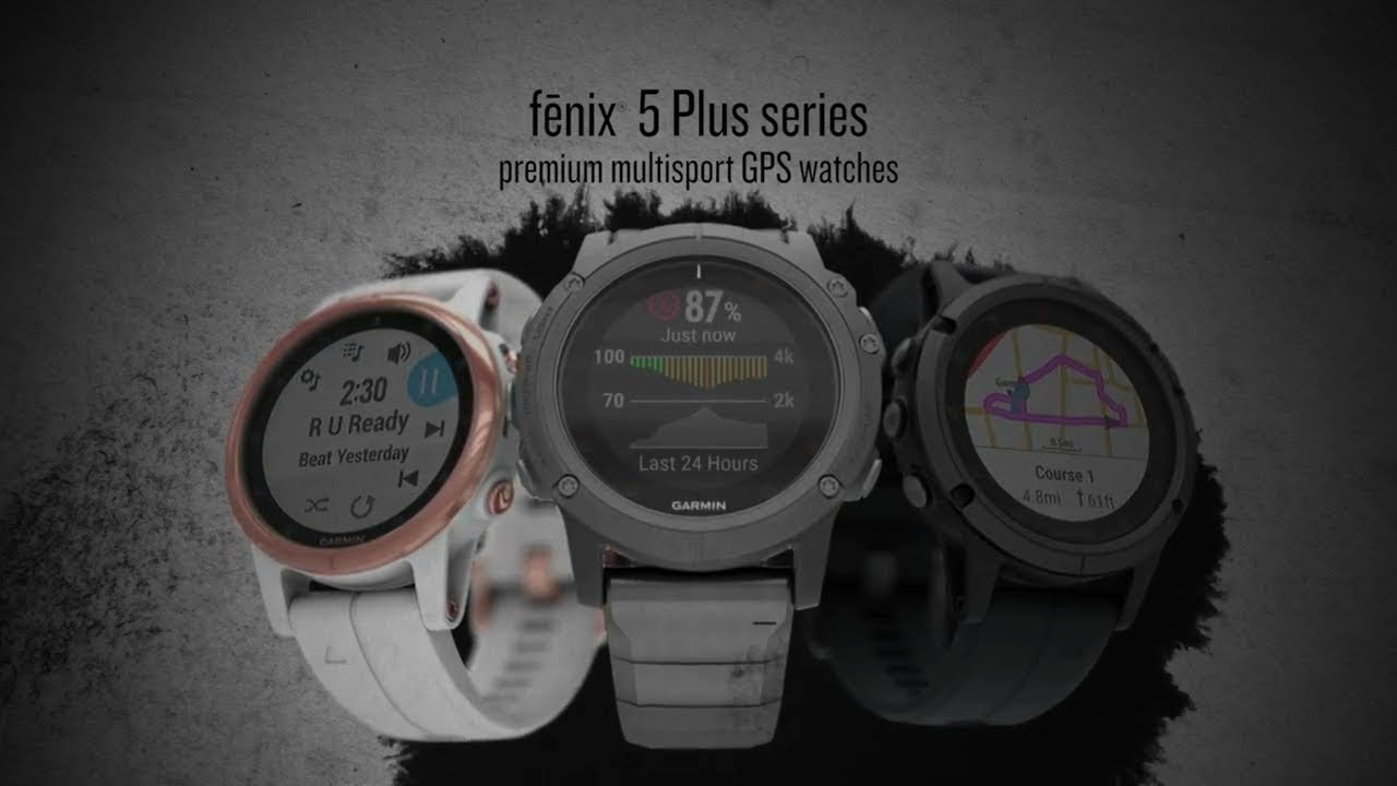 Renewed Garmin Fenix 5s Plus Smaller-Sized Multisport GPS Smartwatch White//Rose Gold Music and Garmin Pay Heart Rate Monitoring Features Color TOPO Maps
