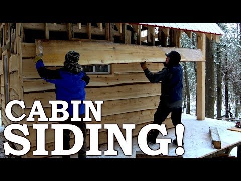 BUILDING Cabin from SCRATCH with SAWMILL! | 80-YEAR OLD TREE into SIDING! Ep9