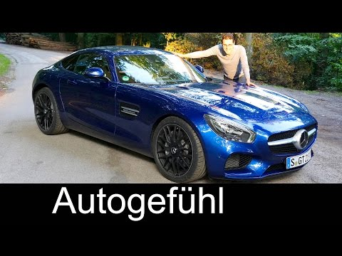 All-new Mercedes-AMG GT FULL REVIEW test driven 2016 - Autogefühl