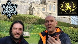 MetaMatt Easton At Arundel Castle Medieval Roman and Japanese Warfare