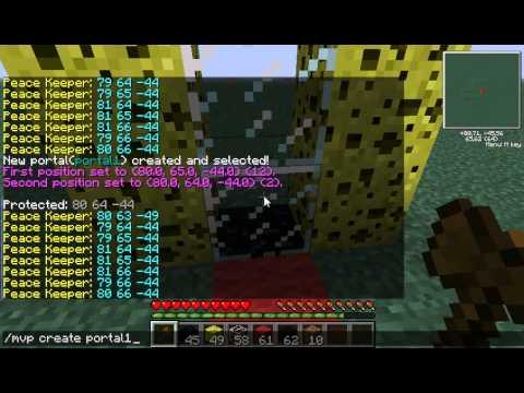 Minecraft 1.2.5 | Multiverse-Portals