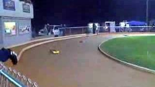 1/8 rc dirt oval heat race