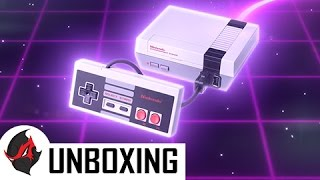 NES Classic Edition Unboxing + Setup & Review  (Nintendo Retro Gaming Console)