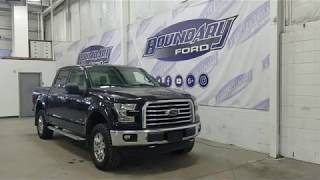 Pre-owned 2016 Ford F-150 SuperCrew XLT XTR 301A W/ 2.7L EcoBoost Overview | Boundary Ford