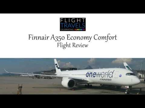 Finnair A350 Flight Review: Economy Comfort Class Helsinki to Hong Kong (HEL-HKG)