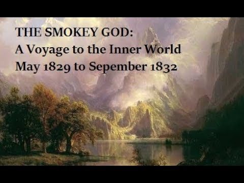 THE NORTH POLE | THE SMOKEY GOD | A Voyage to the Inner World 1829 by George Emerson