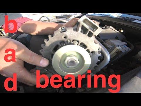 Grinding NOISE hard Vibration ALTERNATOR Replacement Chevy TrailBlazer √ Fix it Angel