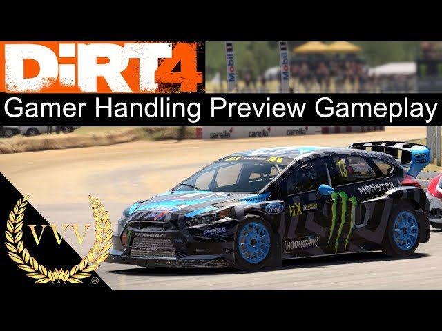 Dirt 4 - Gamer Handling, No Comment Multicam Gameplay