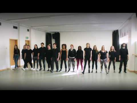 Leeds City College Choir singing Seize The Day