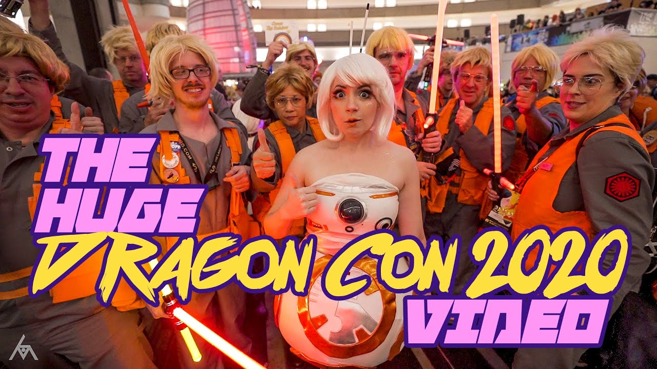 Download The HUGE DRAGON CON 2020 video