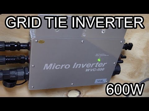GRID TIE INVERTERS | ECOWORTHY WVC-600