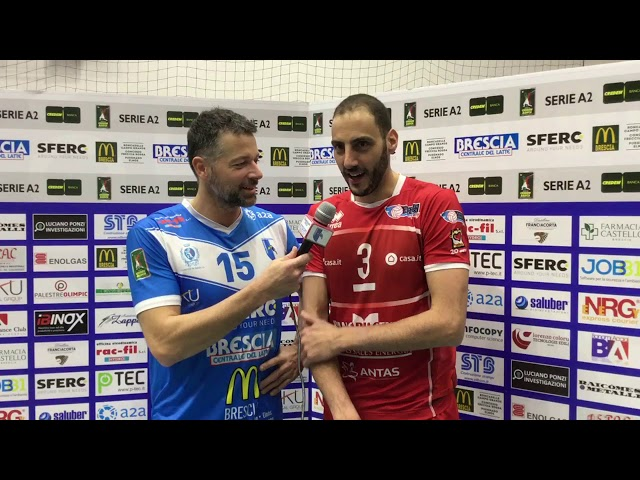 Cisolla intervista Fei dopo la semifinale di Coppa Italia