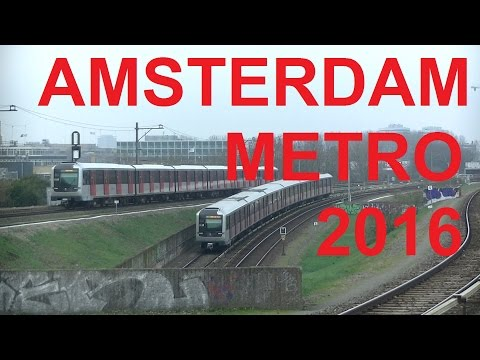 Amsterdam Metro 2016