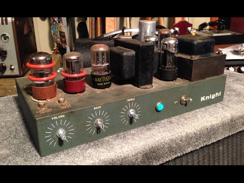 EPIC Conversion -1956 Knight Tube Guitar Amp
