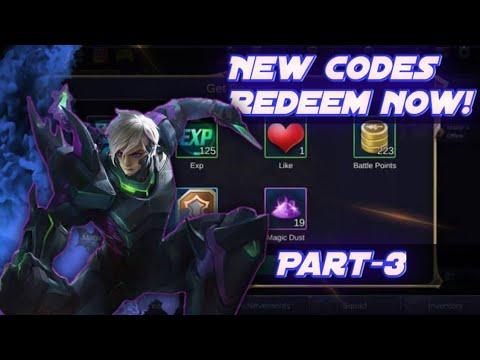 Redeem code for mobile legends | Legit 101% | part-3 - YouTube