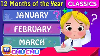 ChuChu TV Classics - Months of the Year Song | Nursery Rhymes and Kids Songs
