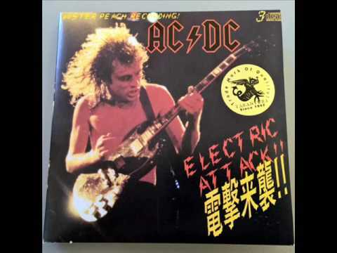 AC/DC Electric Attack {Full Album} Tokyo 1981 Both Shows [Soundboard]