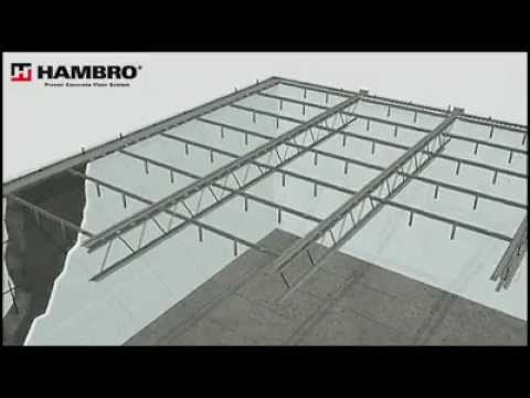 Icf Construction With Hambro Floor System Youtube
