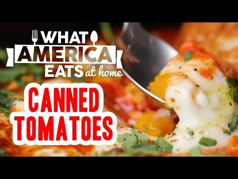 Canned Tomatoes | What America Eats At Home