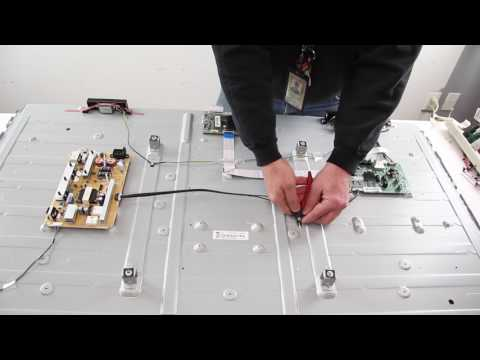 """samsung-60""""-led-tv---led-strip-replacement-tutorial-fixing-bad-leds---bn96-29074a-&-bn96-29075a"""