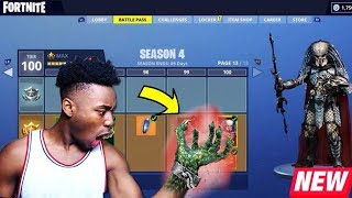 *NEW* SEASON 4 TURNED ME INTO AN ACTUAL ALIEN!? OFFICIAL SEASON 4 GAMEPLAY!