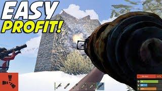 Easy Raids! (Rust Raids, Counter Raids, Intense Heli Fight)