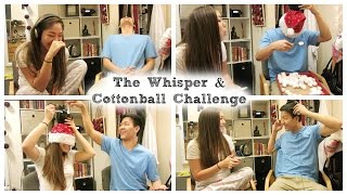 The Whisper & Cottonball Challenge Ft. Elliot!