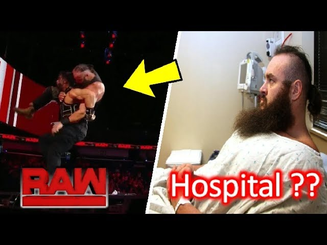 Braun Strowman Injured After Roman Reigns Attack ?? WWE Raw 10 September 2018 Highlights