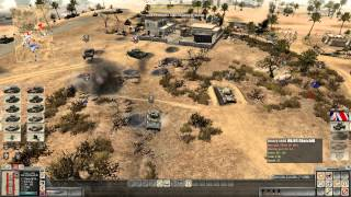 Let´s play Men of war: Assault Squad 2 Campaign UK El Alamein part 2