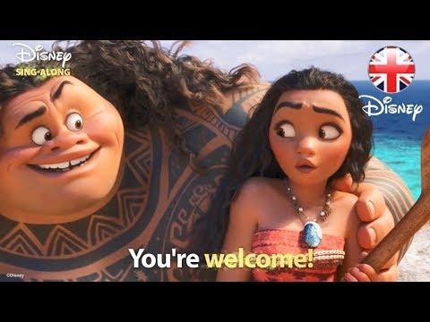 DISNEY SING-ALONGS | You're Welcome -  Moana Lyric Video | Official Disney UK Mp3