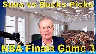 Free NBA Picks and Predictions | Milwaukee Bucks vs Phoenix Suns Game 3 Betting Preview | July 11