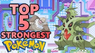 Top 5 Strongest Pokemon - Non-Legendary (All Megas)