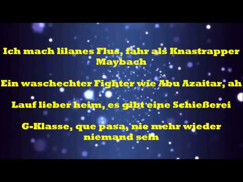 Farid Bang - Niemand ( Lyrics )