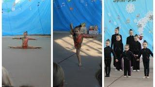 Спортивный утренник 'Зимняя мелодия', Кочкина Лиза, 4,2 года