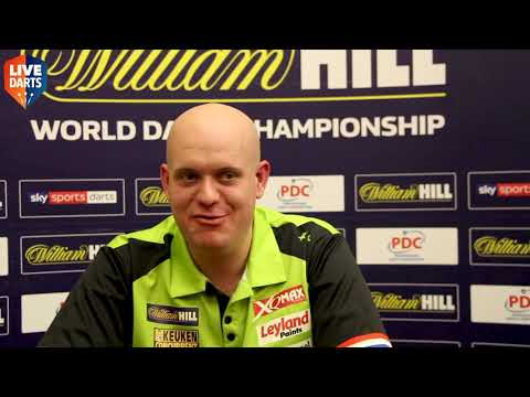 """Michael van Gerwen reacts after being soaked with beer: """"I was so angry, but what can you do?"""""""