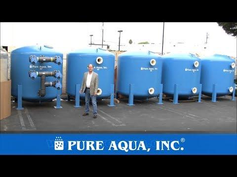 Multi Cells Filtration System 1,440,000 GPD - Saudi Arabia | www.PureAqua.com