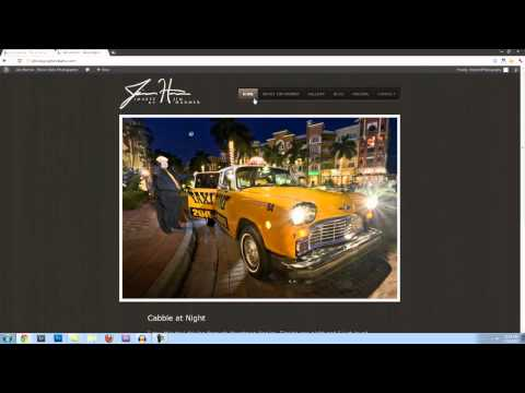 How to Build a Photography Portfolio Site in 10 mins or Less