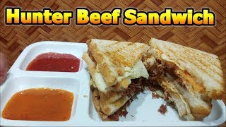 Hunter Beef Sandwich Recipe - by Cooking With Shabana