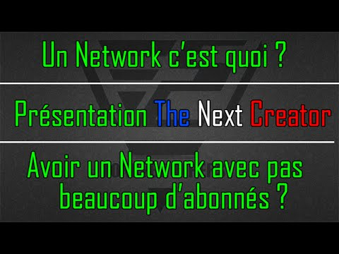 un network c 39 est quoi presentation de the next creator youtube. Black Bedroom Furniture Sets. Home Design Ideas