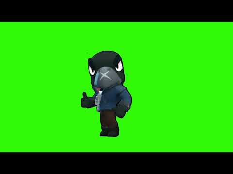 Футаж Ворон Бравл Старс | Green screen Crow Brawl Stars