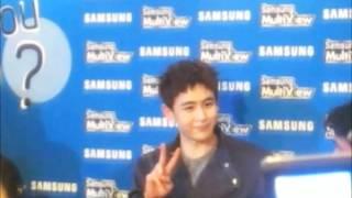 [Fancam] 111005 Nichkhun @ Samsung Multiview Press Conference