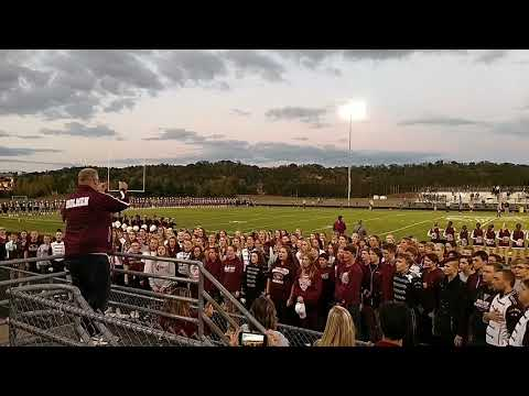 Holmen High School Choir - National Anthem - Holmen Homecoming Football Game 2017