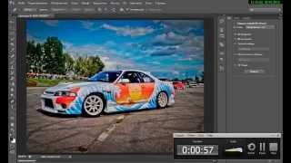 Размытие заднего фона(Photoshop cs6)(В этом уроке я покажу вам,как размыть задний фон на фотографии в фотошопе. Извините за шум. Ставьте лайки..., 2015-01-01T20:07:57.000Z)