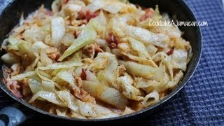 Jamaican Cabbage And Codfish Recipe Video