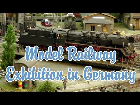 International Model Railway Exhibition Cologne Germany : The world of digital model railways