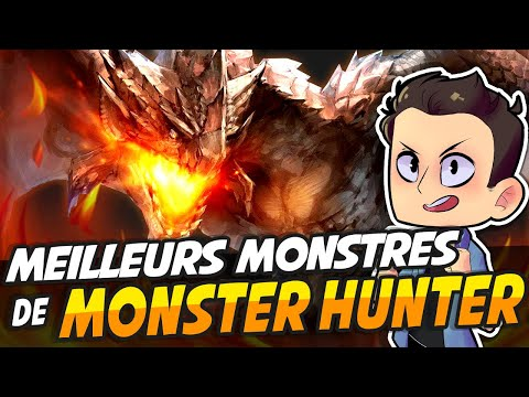 LES MEILLEURS MONSTRES DE MONSTER HUNTER !!! thumbnail