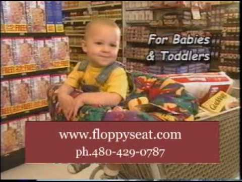 Floppy Seat Deluxe Shopping Cart Seat Cover Youtube